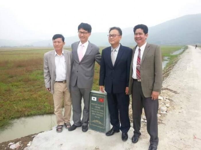 KOICA hỗ trợ nông thôn Thanh Hóa
