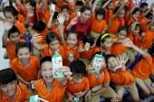 Vinamilk đưa chương trình Sữa học đường đến 500 trường học ở Đà Nẵng