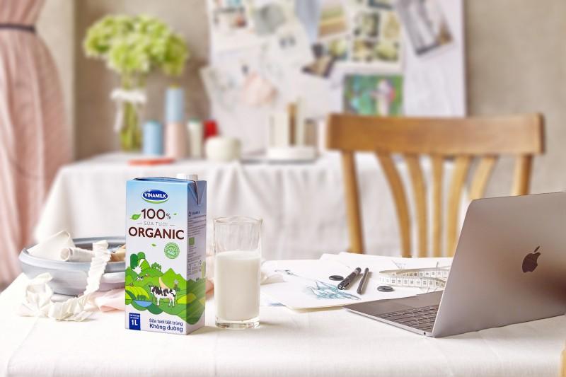 Vinamilk ra mắt sản phẩm sữa tươi organic sản xuất tại Việt Nam