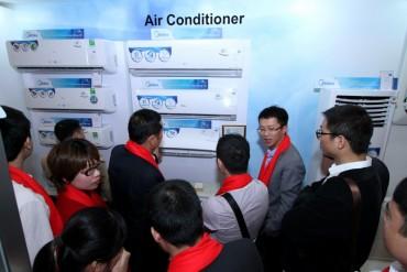 Midea ra mắt các dòng sản phẩm máy điều hòa 2017
