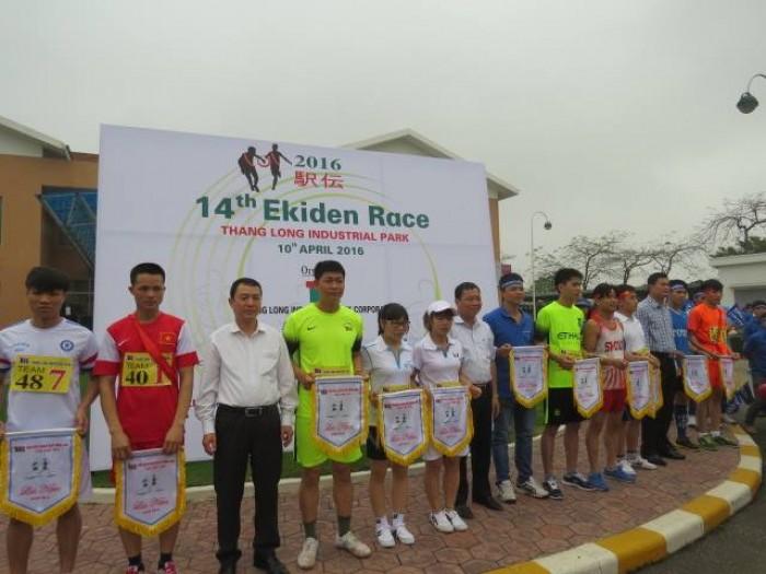 Agribank Đông Anh đồng hành cùng giải chạy Ekiden Thăng Long