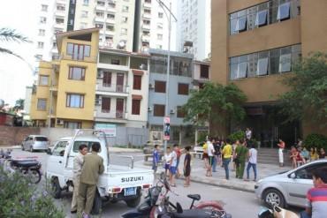 Rơi từ tầng 29 chung cư xuống đất, 1 phụ nữ tử vong