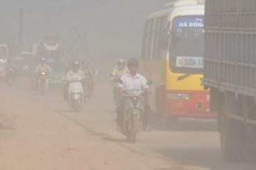 Hà Nội ô nhiễm bụi vượt giới hạn cho phép