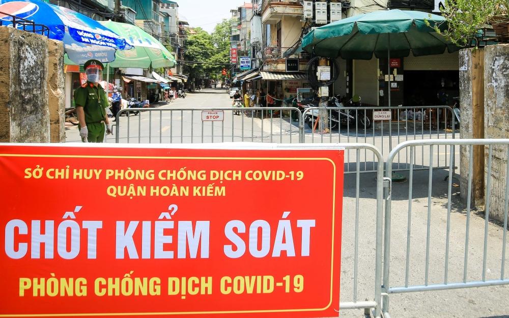 Quận Hoàn Kiếm: Dừng cấp Giấy đi đường tại phường Chương Dương