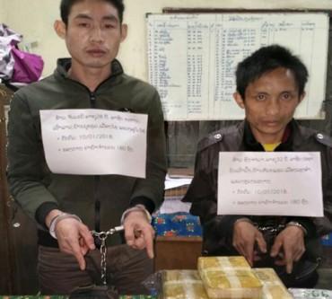 Bộ đội Việt Nam và công an Lào phối hợp phá chuyên án ma túy lớn