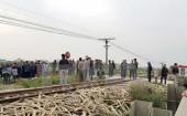 Nam Định: Tai nạn đường sắt nghiêm trọng làm 2 người tử vong
