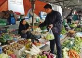 Rau xanh tăng giá từng ngày vì rét
