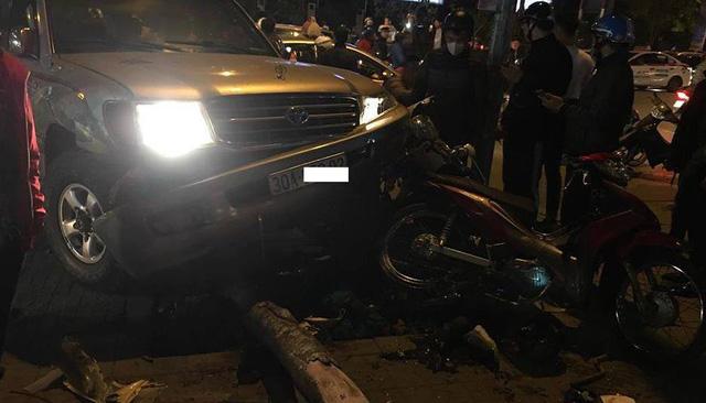 Hà Nội: 'Xe điên' gây tai nạn liên hoàn, nhiều người nhập viện