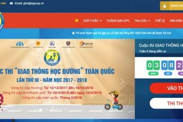 Bộ GDĐT lấy tiêu chí học sinh tham gia thi trên mạng để xét thi đua