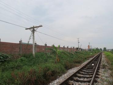 Xử lý công trình đường sắt có dấu hiệu nguy hiểm