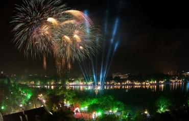 Bắn pháo hoa tại Hồ Gươm có thể kéo dài 30 phút