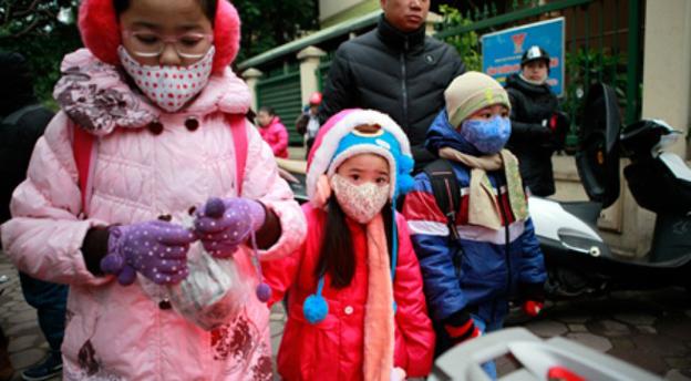 Dự báo thời tiết (31/1): Hà Nội rét 8 độ và mưa, trẻ mầm non và tiểu học được nghỉ học