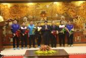 Chủ tịch TP. Hà Nội gặp mặt Ban Huấn luyện và các tuyển thủ U23 Việt Nam