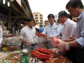 Đủ nguồn cung thực phẩm cho Tết Nguyên đán
