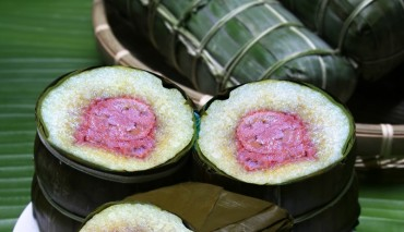 Bánh chưng chuối: Nét đặc sắc của người Thái