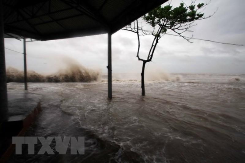 Cơn bão Sanba có thể đổ bộ miền Trung đúng dịp Tết Nguyên đán