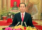 Thư chúc Tết Xuân Mậu Tuất của Chủ tịch nước Trần Đại Quang