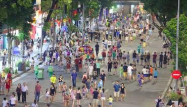 Hà Nội chưa cho phép mở rộng tuyến phố đi bộ