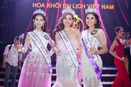 Người đẹp Khánh Ngân đăng quang Hoa khôi Du lịch 2017