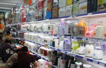 Việt Nam nhập khẩu phần lớn hàng gia dụng từ Thái Lan