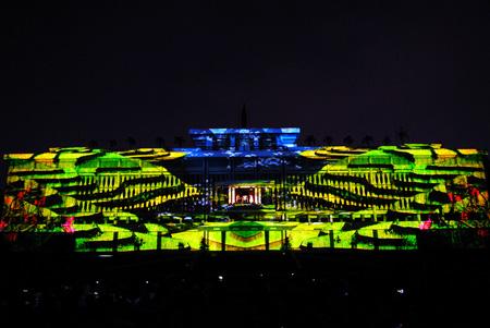 TPHCM: Bắn pháo hoa kết hợp chiếu sáng nghệ thuật vào dịp 30/4