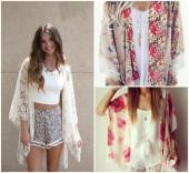 Áo khoác kimono - Ý tưởng mới cho mùa hè tới