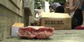 Cảnh sát Trung Quốc thu giữ hàng trăm tấn thịt đông lạnh đáng ngờ