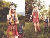 Định hình phong cách hippie phóng khoáng, tự do, bí ẩn