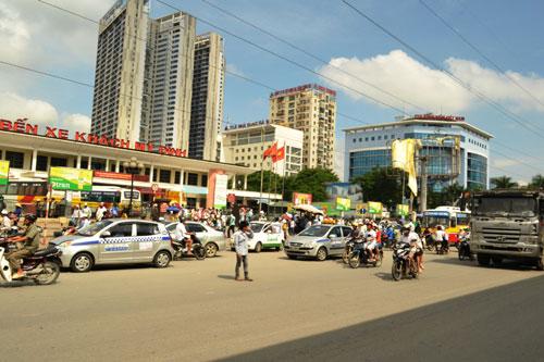 4 bến xe lớn của Hà Nội sẽ được chuyển đổi chức năng