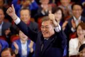 Ông Moon Jae In chiến thắng trong cuộc bầu cử Tổng thống Hàn Quốc