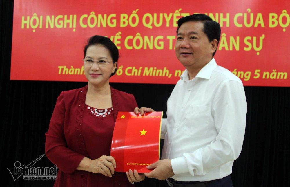 Đồng chí Đinh La Thăng giữ chức Phó Trưởng Ban Kinh tế Trung ương