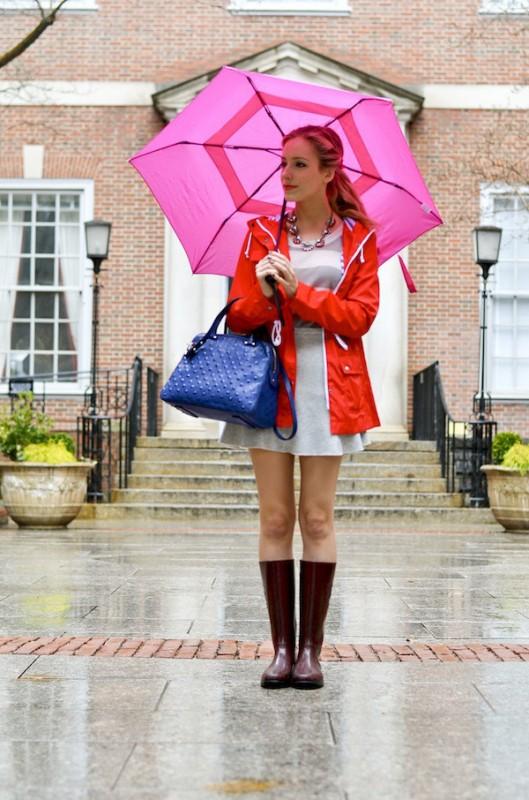 Mặc gì những ngày mưa mà vẫn đẹp hút hồn