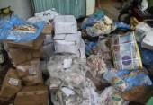 Phát hiện 900kg thịt động vật ngoại nhập ôi thiu, hết hạn sử dụng