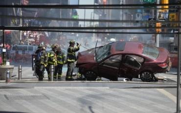 Tai nạn kinh hoàng ở Quảng trường Thời đại, 14 người thương vong