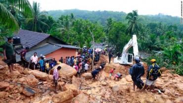 Lũ lụt ở Sri Lanka khiến 91 người thiệt mạng