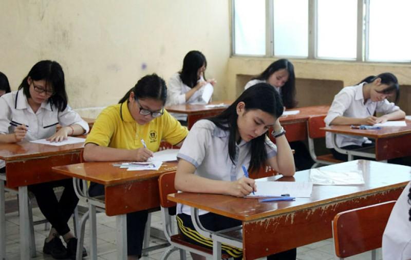 Cả nước có gần 870 nghìn học sinh dự thi THPT quốc gia năm 2017