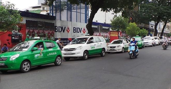 dung cap phep thi diem moi taxi grab uber