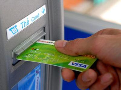 Lắp thiết bị chống sao chép thông tin thẻ ATM