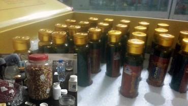 Phát hiện gần 200 thùng mỹ phẩm, thực phẩm chức năng hết date ở Hà Đông