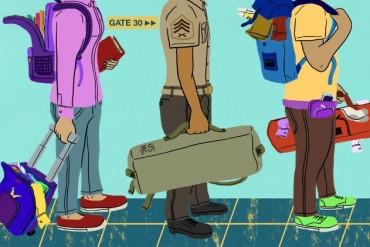 Nguyên tắc đóng gói ba lô trong quân đội giúp bạn du lịch dễ dàng hơn