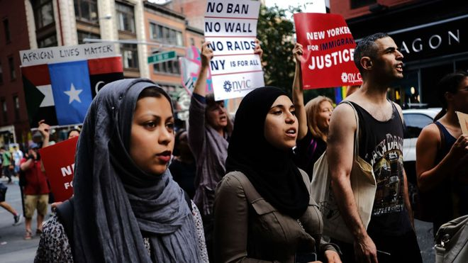 Mỹ: Sắc lệnh cấm nhập cảnh bắt đầu có hiệu lực