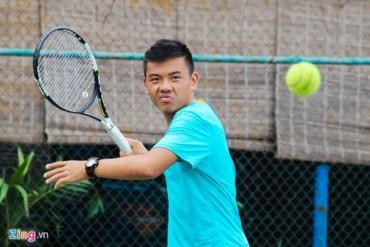 Tay vợt Lý Hoàng Nam trở lại thứ hạng 870 thế giới