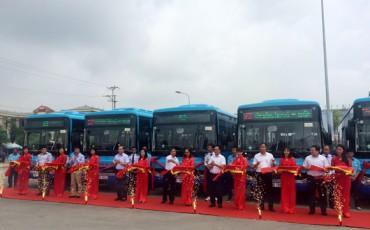 Mở mới 3 tuyến buýt kết nối vùng ngoại thành với trung tâm Hà Nội