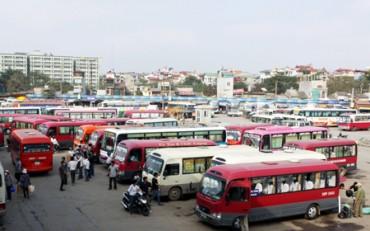 Hà Nội: Thu hồi phù hiệu của 15 xe khách