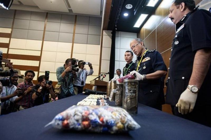 Malaysia phá vụ buôn ma túy lớn có người Việt Nam tham gia