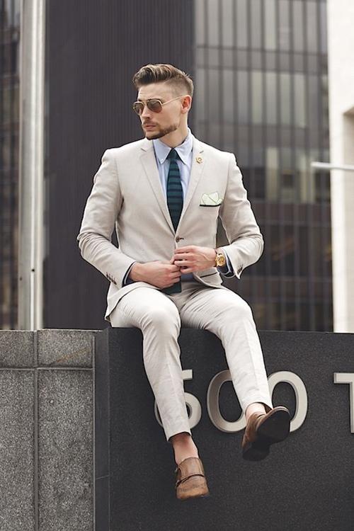 4 thứ khiến đàn ông trở thành soái ca với veston