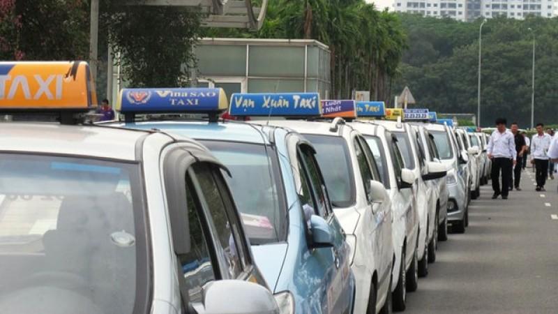Hà Nội dự định phân vùng hoạt động taxi