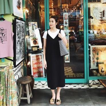 Tăng Thanh Hà khoe street style trẻ trung, đọ sắc cùng dàn mỹ nhân