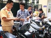 Sử dụng Giấy đăng ký bản sao có chứng thực khi tham gia giao thông