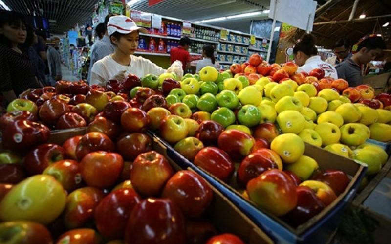 Trái cây ngoại thống lĩnh thị trường nội